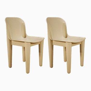 Vintage Stühle aus Kunststoff, 6er Set