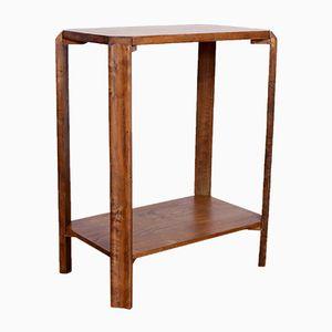 Vintage Solid Oak Side Table