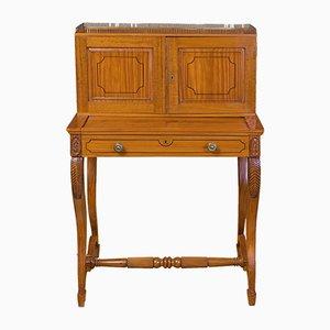 Antiker anglo-indischer Schreibtischschrank