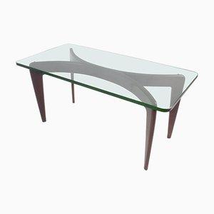 Table Basse en Verre de Cristal Biseauté par Gio Ponti pour Fontana Arte, 1936