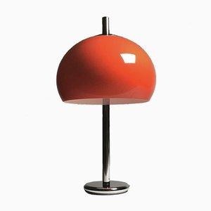 Lámpara de mesa alemana era espacial Mid-Century de Kaiser Leuchten, años 70