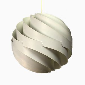 Vintage Turbo Ceiling Light by Louis Weisdorf for Lyfa, 1965