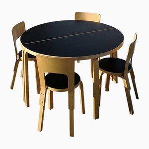Dining Set by Alvar Aalto for Artek, 1980s