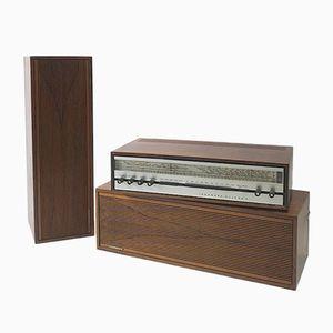 Modell Huldra 9 Soundsystem mit Gehäuse aus Palisander von Tandberg, 1968