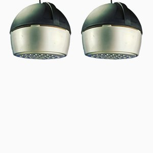 Space Age Ceiling Speakers, 1970s, Set of 2