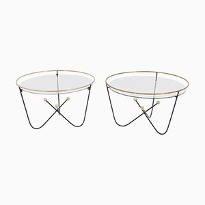 Low Side Tables by Edward Ihnatowicz for Mars Furniture, Set of 2