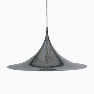 Verchromte Vintage Deckenlampe von Claus Bonnerup & Torsten Thorup für Fog & Mørup, 1974