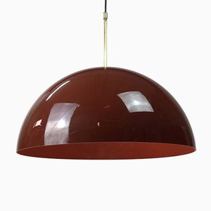 Lámpara de techo grande de Frank Bentler, años 70