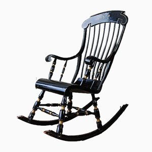 Rocking Chair Antique, Suède, 1850s