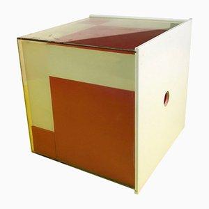 Briques Éducatives Géométriques Rouges et Blanches Tchécoslovaques, 1970s