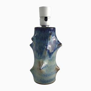 Dänische Tischlampe aus Keramik von Basse Knud, 1960er
