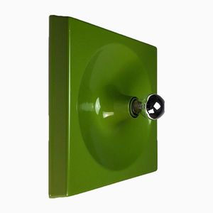 Green Space Age Wall Panel Sconce from Schönbuch, 1970s