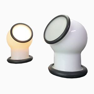 Space Age Epoke III Wall Lights by Michael Bang for Holmegaard, Set of 2