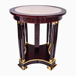 Antique Jugendstil Mahogany Table, 1910s