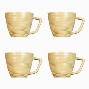 Knotted Cups by Harriet Caslin, Set of 4