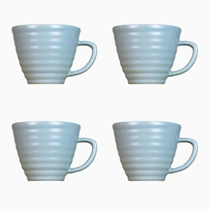 Lathed Cups by Harriet Caslin, Set of 4