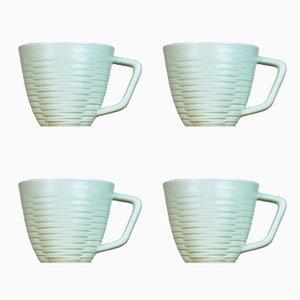 Gerillte Tassen von Harriet Caslin, 4er Set