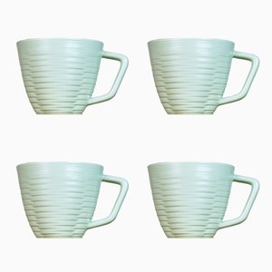 Tasses Lathed par Harriet Caslin, Set de 4