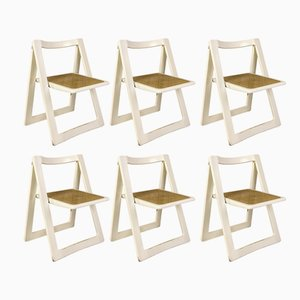 Trieste Folding Chairs by Jacober & d'Aniello for Bazzani, 1966, Set of 6