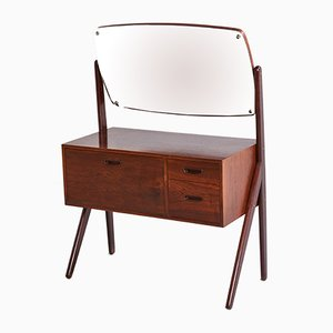 Vintage Danish Rosewood Dressing Table, 1960s