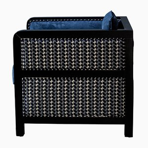 Art Deco Style Bacco Deconstructed Armchair by Casa Botelho