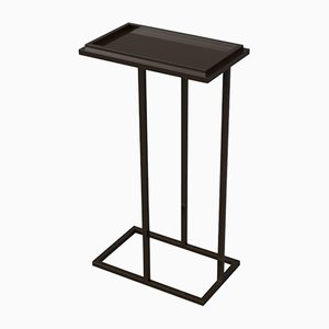 Powder Coated Steel Bacco Cantilever Pedestal by Casa Botelho