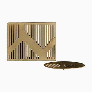 Art Deco Style Vulcano Tissue or Paper Holder by Casa Botelho