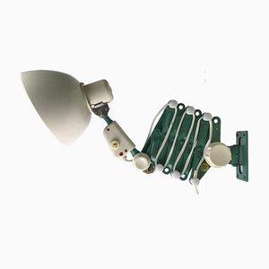 Lámpara de acordeón Industrial de Reif Dresden, años 50