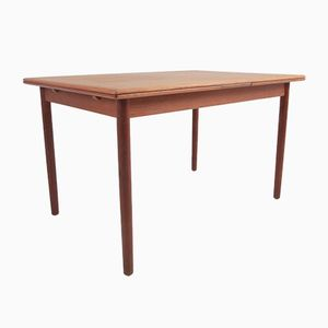 Mid-Century Danish Teak Dining Table, 1950s