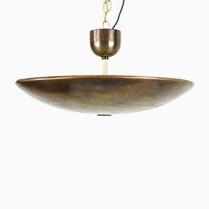 Lámpara de techo de J. T. Kalmar, años 50