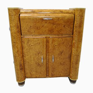 Buxus Wood Cabinet, 1950s