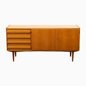 Vintage Cherry Wood Sideboard, 1960s