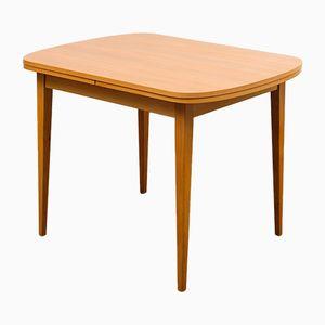 Ausziehbarer Esstisch aus Eschenholz, 1960er
