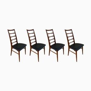 Chaises de Salle à Manger Modèle Lis par Niels Koefoed pour Koefoeds Hornslet, Set de 4