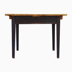 Dänischer Vintage Tisch mit Aufbewahrungsfach