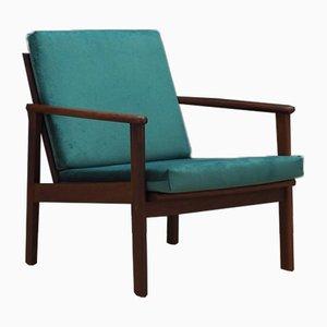 Dänischer Vintage Armlehnstuhl aus Teak