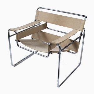 Sedia B3 Wassily vintage di Marcel Breuer per Gavina, anni '60