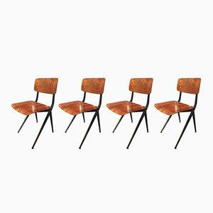 Chaises de Salon par Ynske Kooistra pour Atelier Marko, 1969, Set de 4