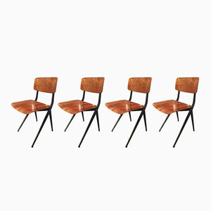 Dining Chairs by Ynske Kooistra for Atelier Marko, 1969, Set of 4