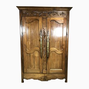 19th Century Chestnut Wardrobe
