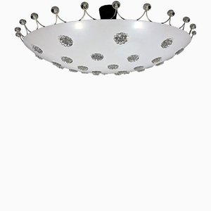 Large Ceiling Light by Emil Stejnar for Rupert Nikoll, 1950s