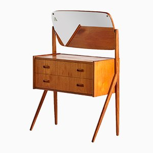 Danish Teak Dressing Table from AG Spejl Kobberbeskyttet, 1960s