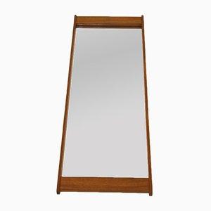 Espejo vintage con marco de teca