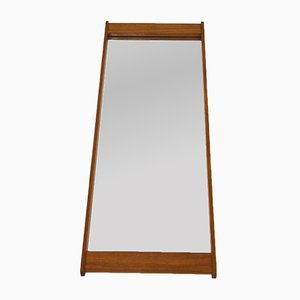 Vintage Mirror with Teak Frame