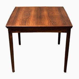 Mesa de comedor extensible danesa de palisandro de Poul Hundevad para Hundevad & Co., años 60
