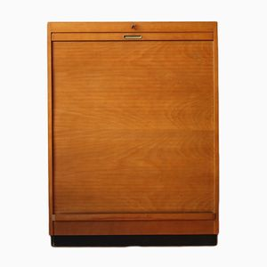 Filing Cabinet with Rolling Door from Eka Werk Horn Lippe, 1950s
