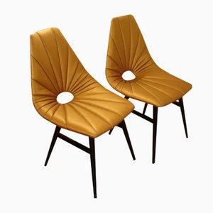 Mid-Century Erika Chairs by Judit Burian, Set of 2