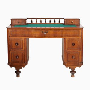 19th Century Italian Walnut Writing Desk