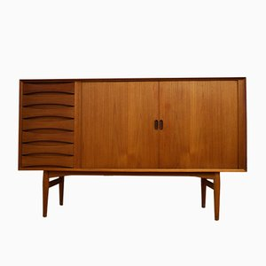 Mid-Century Danish Model OS63 Teak Sideboard by Arne Vodder for Sibast Møbler, 1960s
