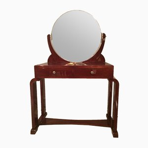 Art Deco Walnut Dressing Table, 1950s